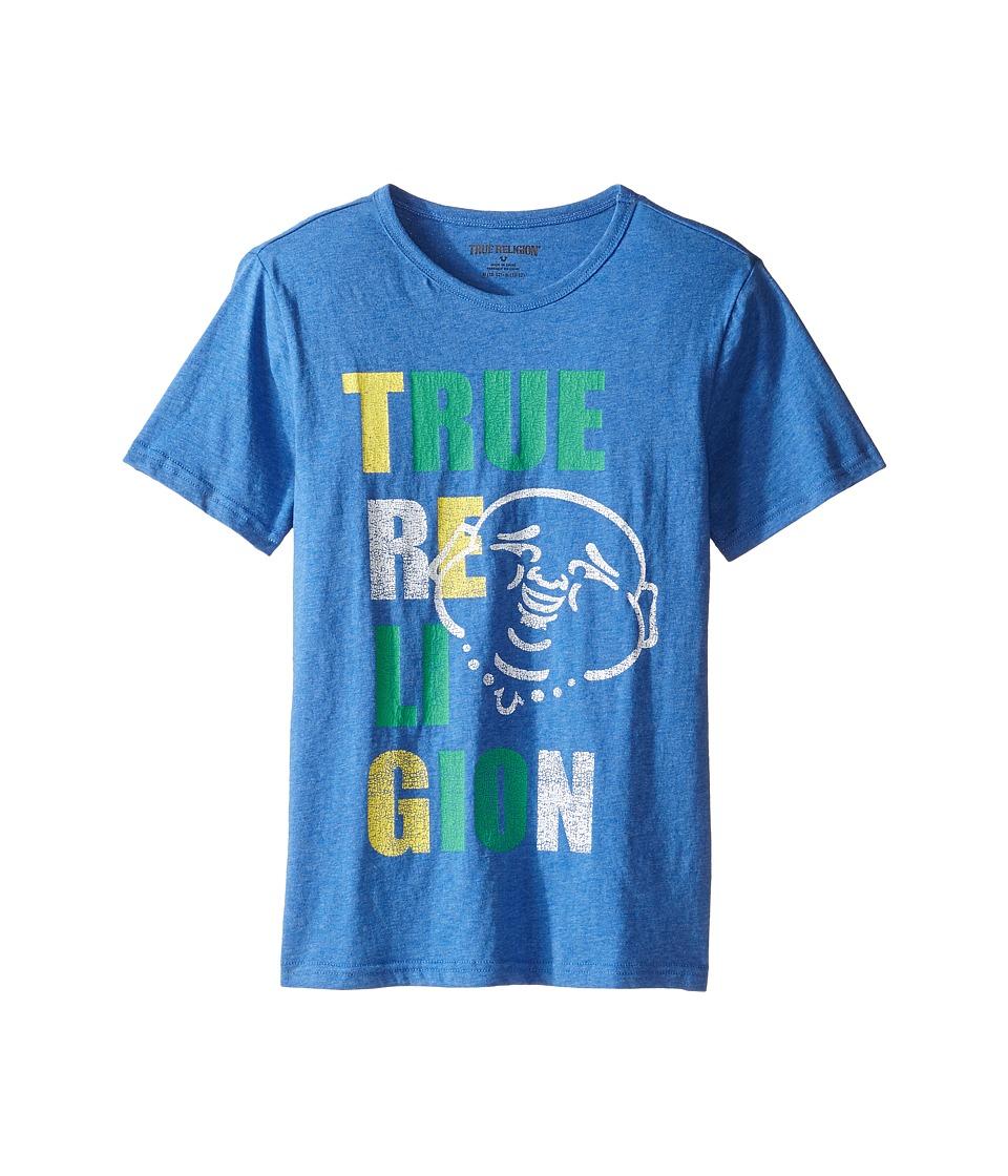 True Religion Kids Buddha Pop Tee (Big Kids) (Bright Blue) Boy