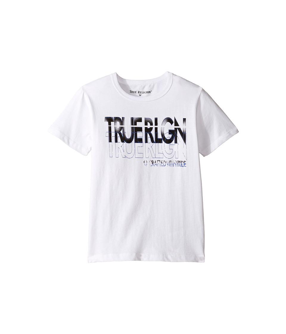 True Religion Kids Shadow Tee (Toddler/Little Kids) (White) Boy