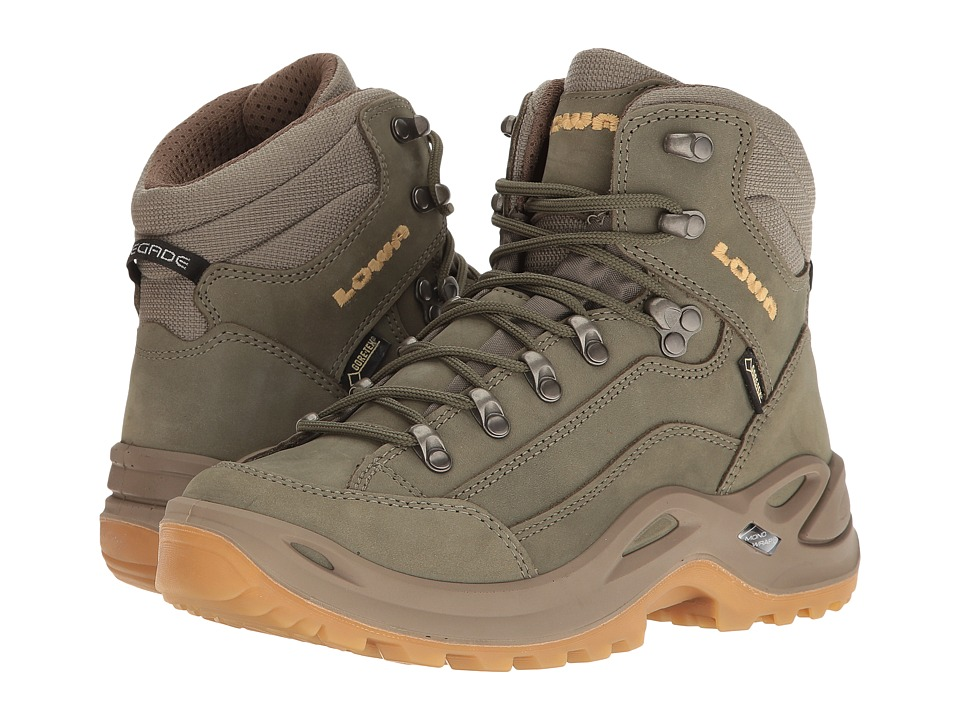 Lowa Renegade GTX Mid (Reed/Honey) Women's Shoes