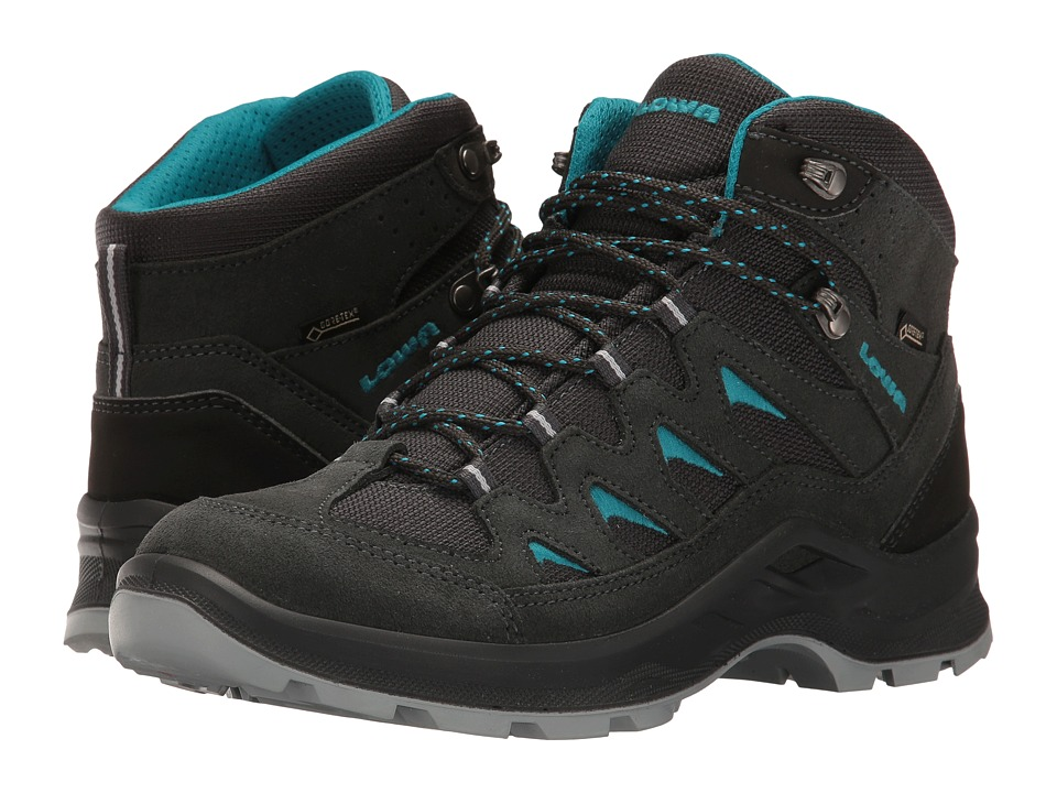 Lowa Levante GTX QC (Anthracite/Turquoise) Women's Shoes