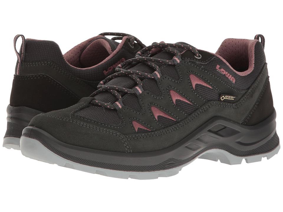 Lowa Levante GTX Lo (Anthracite/Rose) Women's Shoes