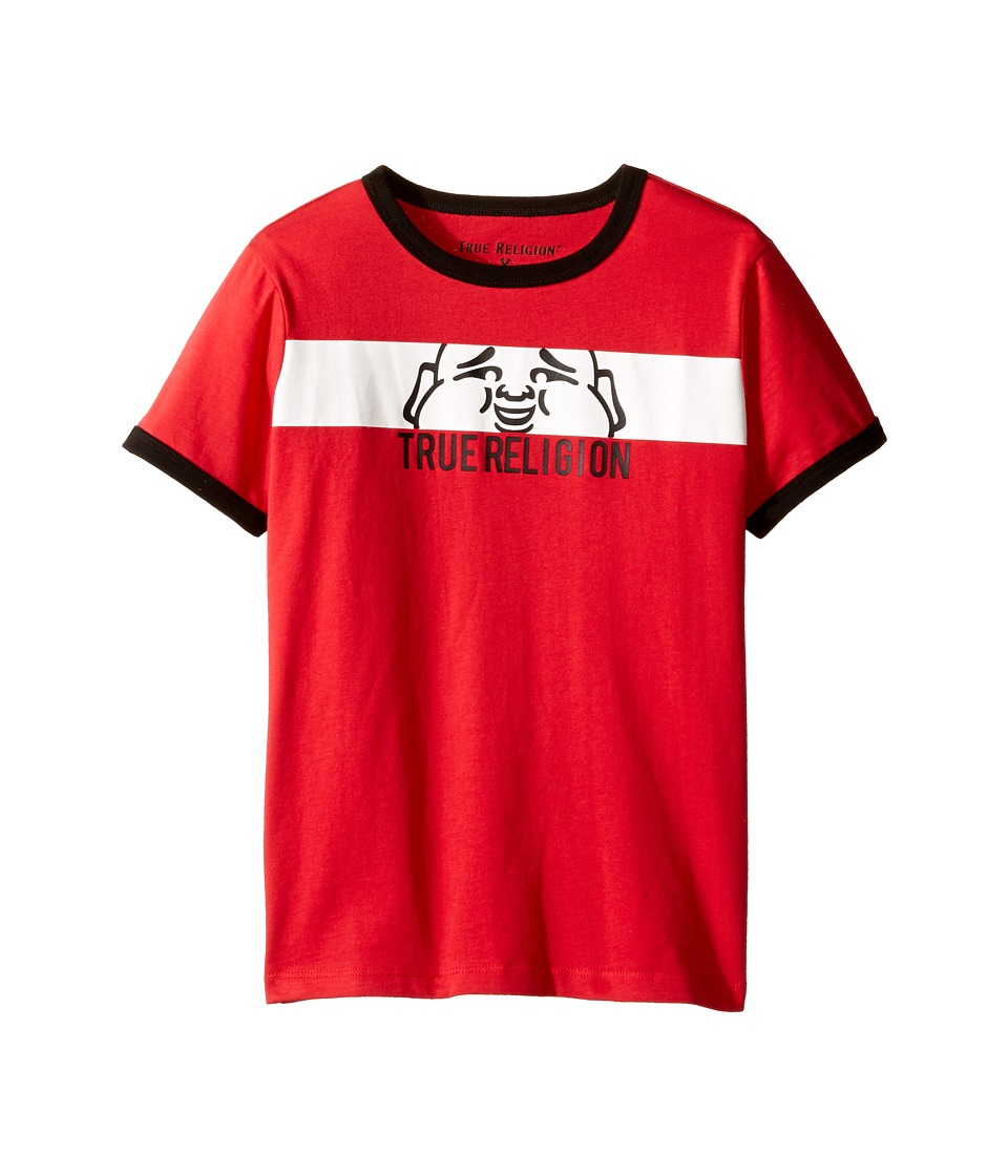 True Religion Kids Buddha Tee (Toddler/Little Kids) (Bright Red) Boy
