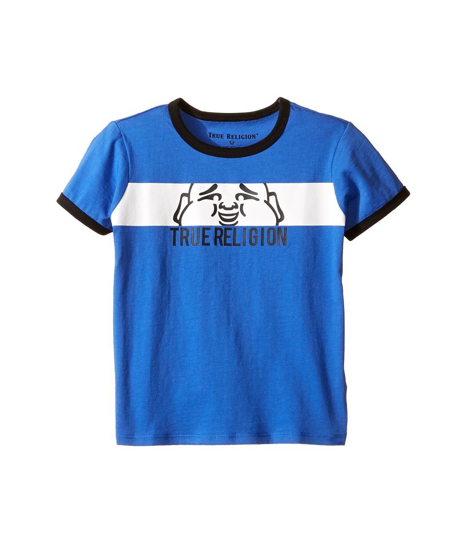 True Religion Kids Buddha Tee (Toddler/Little Kids) (Bright Blue) Boy