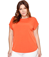 MICHAEL Michael Kors - Plus Size Metal Ball Chain Short Sleeve Tee