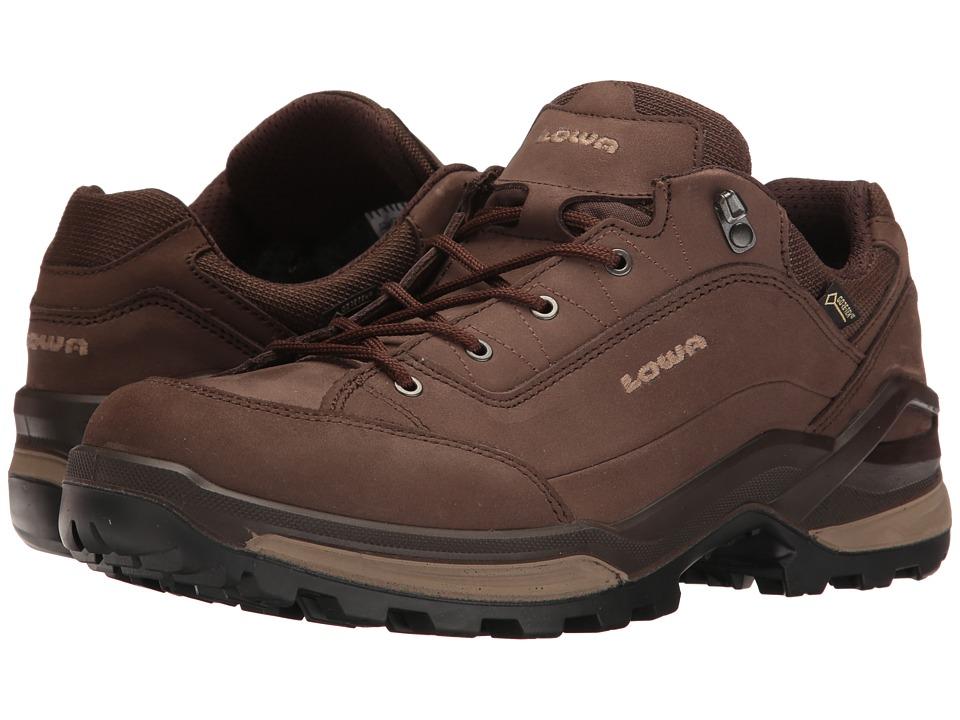 Lowa Renegade GTX Lo (Espresso/Beige) Men's Shoes