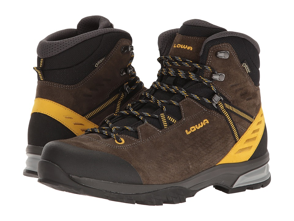 Lowa Arco GTX Mid (Olive/Mustard) Men's Shoes