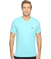 U.S. POLO ASSN. - Short Sleeve Solid V-Neck T-Shirt