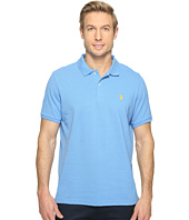 U.S. POLO ASSN. - Solid Cotton Pique Polo with Small Pony