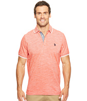 U.S. POLO ASSN. - Short Sleeve Solid Classic Fit Slub Polo Shirt