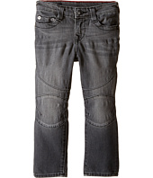 True Religion Kids - Rocco Moto Jeans in Gravel Grey (Toddler/Little Kids)