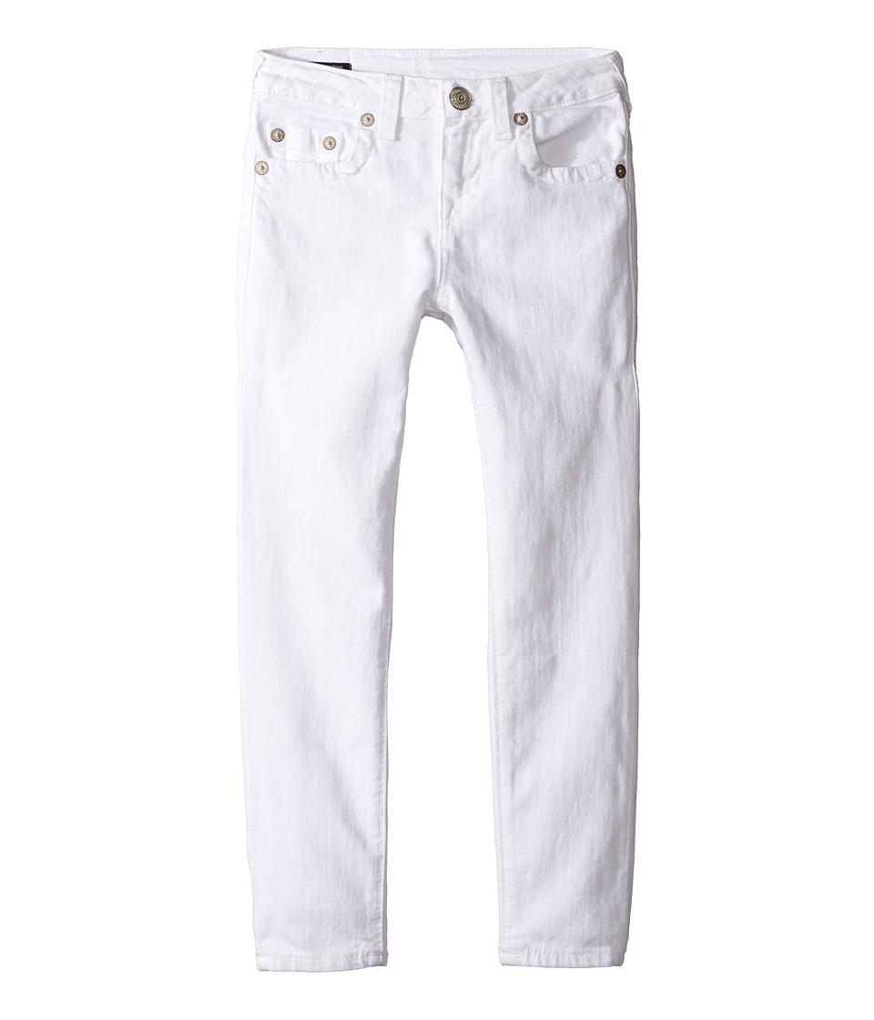 True Religion Kids - Casey Ankle Skinny in White
