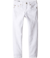 True Religion Kids - Casey Ankle Skinny in White (Big Kids)