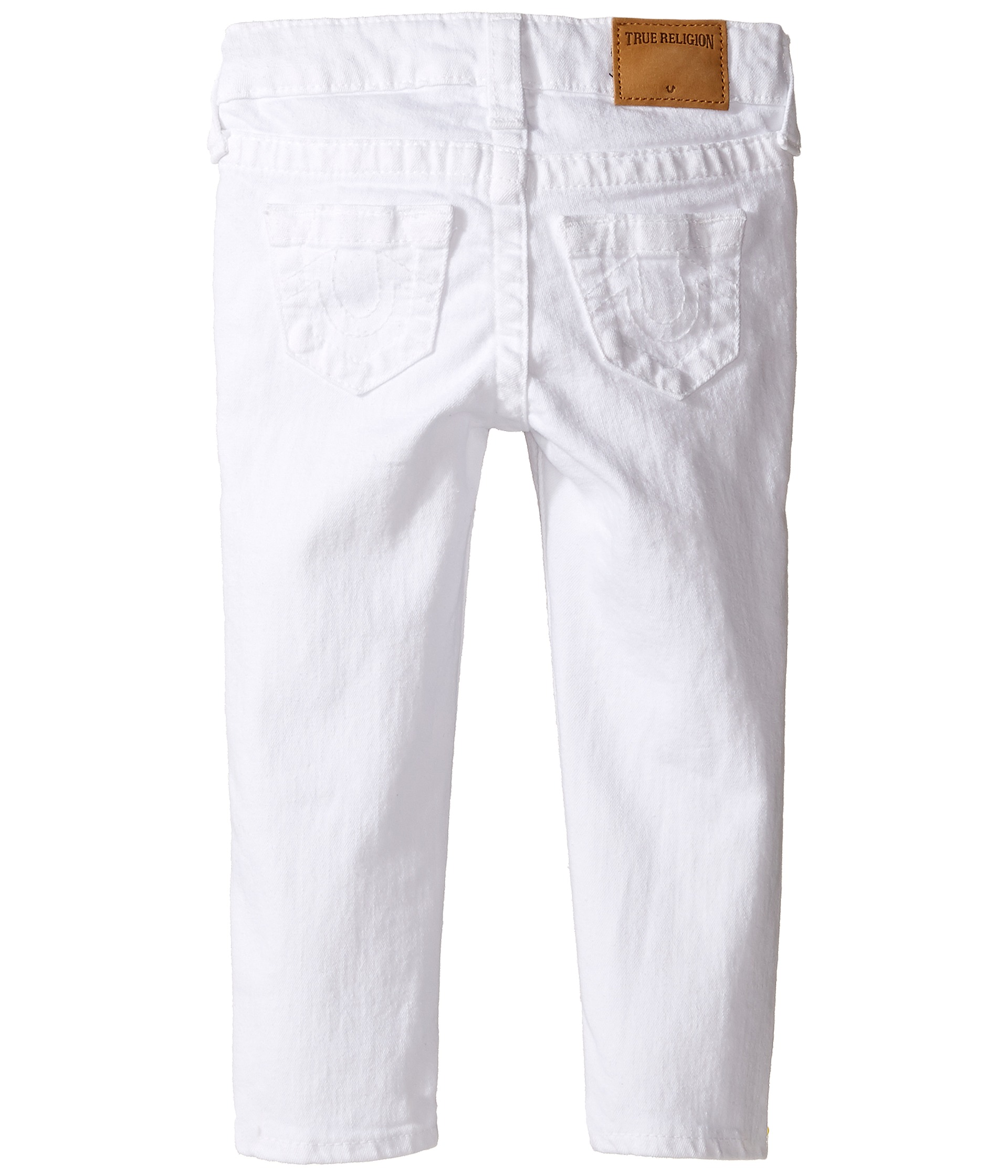 True Religion Kids Casey Ankle Skinny in White (Toddler/Little ...
