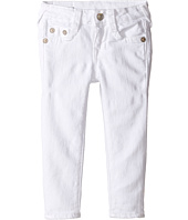 True Religion Kids - Casey Ankle Skinny in White (Toddler/Little Kids)