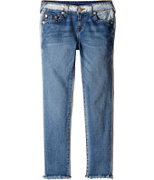 True Religion Kids - Casey Ankle Skinny in Side Car Blue (Big Kids)