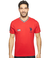 U.S. POLO ASSN. - Solid Short Sleeve V-Neck Classic Fit T-Shirt
