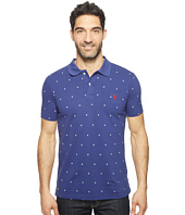 U.S. POLO ASSN. - Printed Short Sleeve Classic Fit Pique Polo Shirt