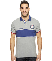 U.S. POLO ASSN. - Short Sleeve Color Blocked Classic Fit Polo Shirt