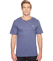 U.S. POLO ASSN. - Solid Short Sleeve Henley Classic Fit T-Shirt