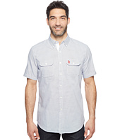 U.S. POLO ASSN. - Two-Pocket Classic Fit Stripe, Plaid or Print Sport Shirt