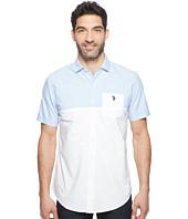U.S. POLO ASSN. - Short Sleeve Classic Fit Color Block Sport Shirt