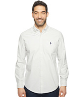 U.S. POLO ASSN. - Solid Long Sleeve Classic Fit Single Pocket Sport Shirt