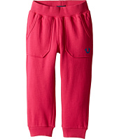 True Religion Kids - Branded Cropped Sweatpants (Toddler/Little Kids)