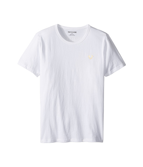 True Religion Kids Gold Buddha Logo Tee (Big Kids)