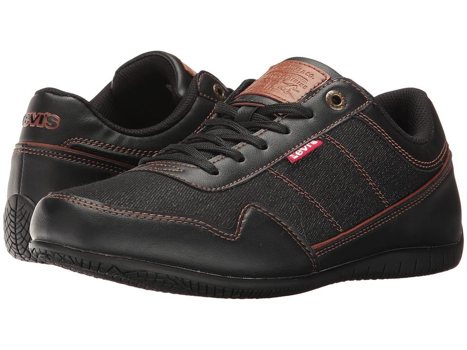 Levis(r) Shoes - Rio Denim (Black/Tan) Mens  Shoes