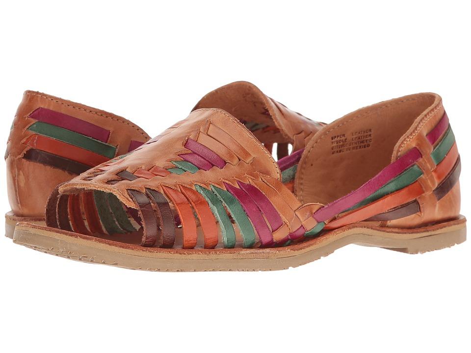 Vintage Sandal History: Retro 1920s to 1970s Sandals Sbicca Jared Multi Womens Flat Shoes $64.99 AT vintagedancer.com