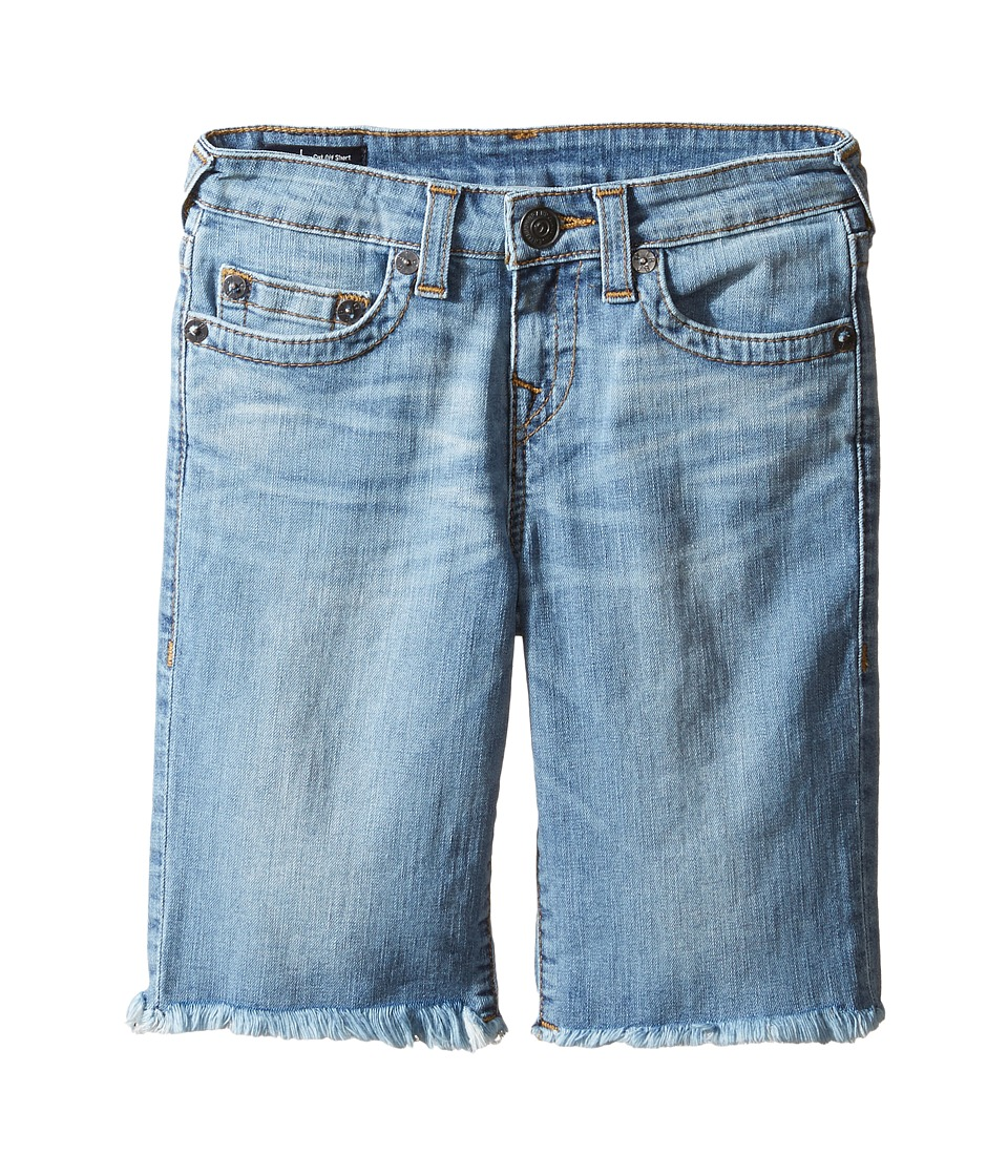True Religion Kids - Geno Shorts in Creased Wash