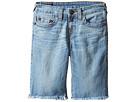 True Religion Kids - Geno Shorts in Creased Wash (Big Kids)