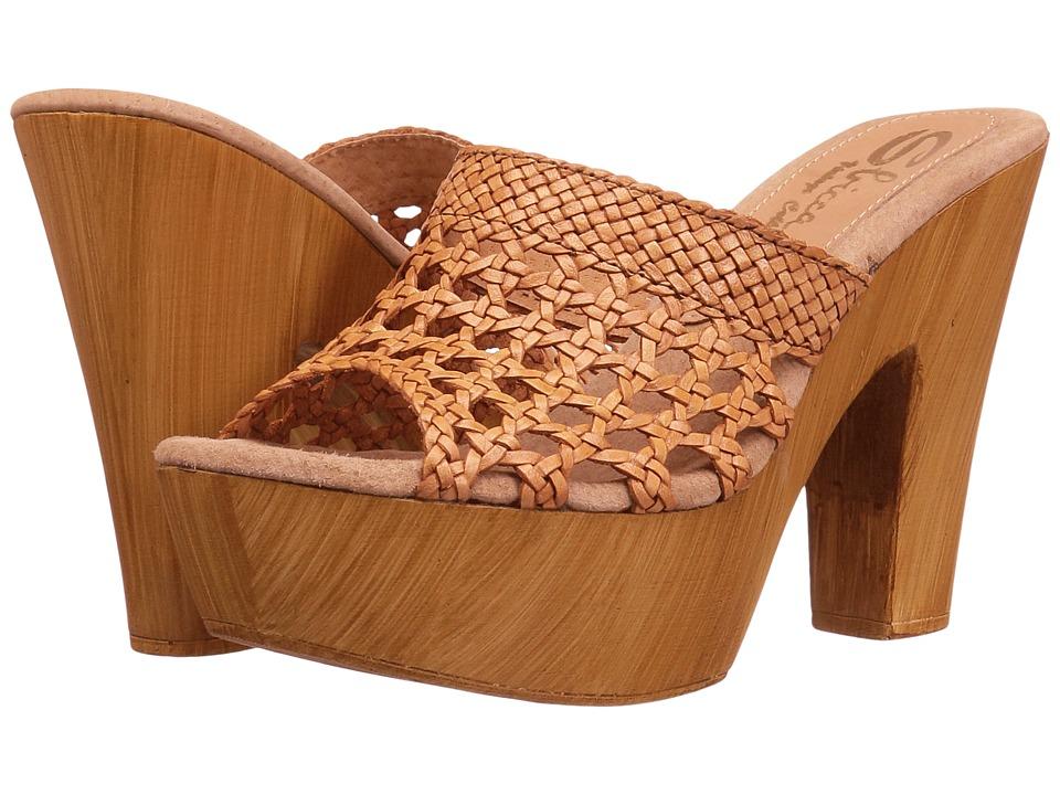 Sbicca Krissa (Tan) High Heels