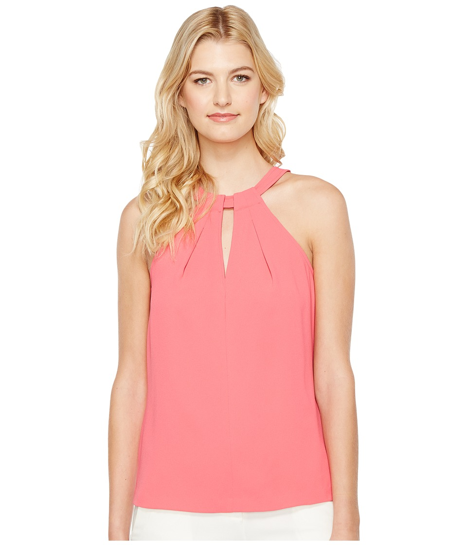Trina Turk - Quince Top (Soiree Pink) Womens Sleeveless