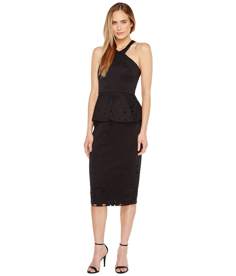Trina Turk Exotic Dress (Black) Women
