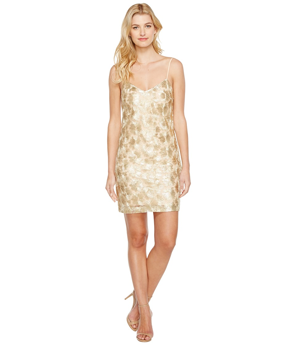 Trina Turk Highlight Dress (Gold) Women