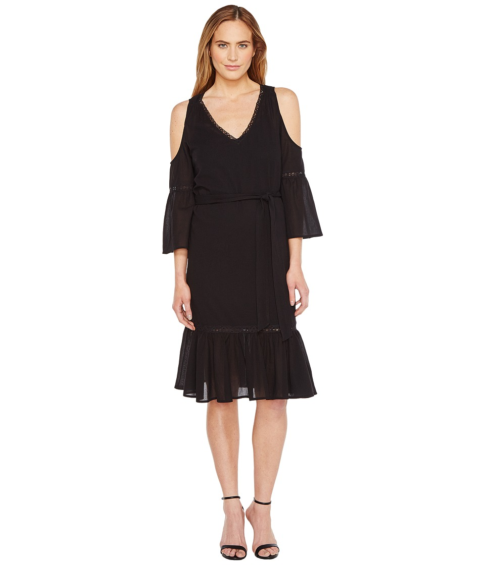 Trina Turk Grand Dame Dress (Black) Women