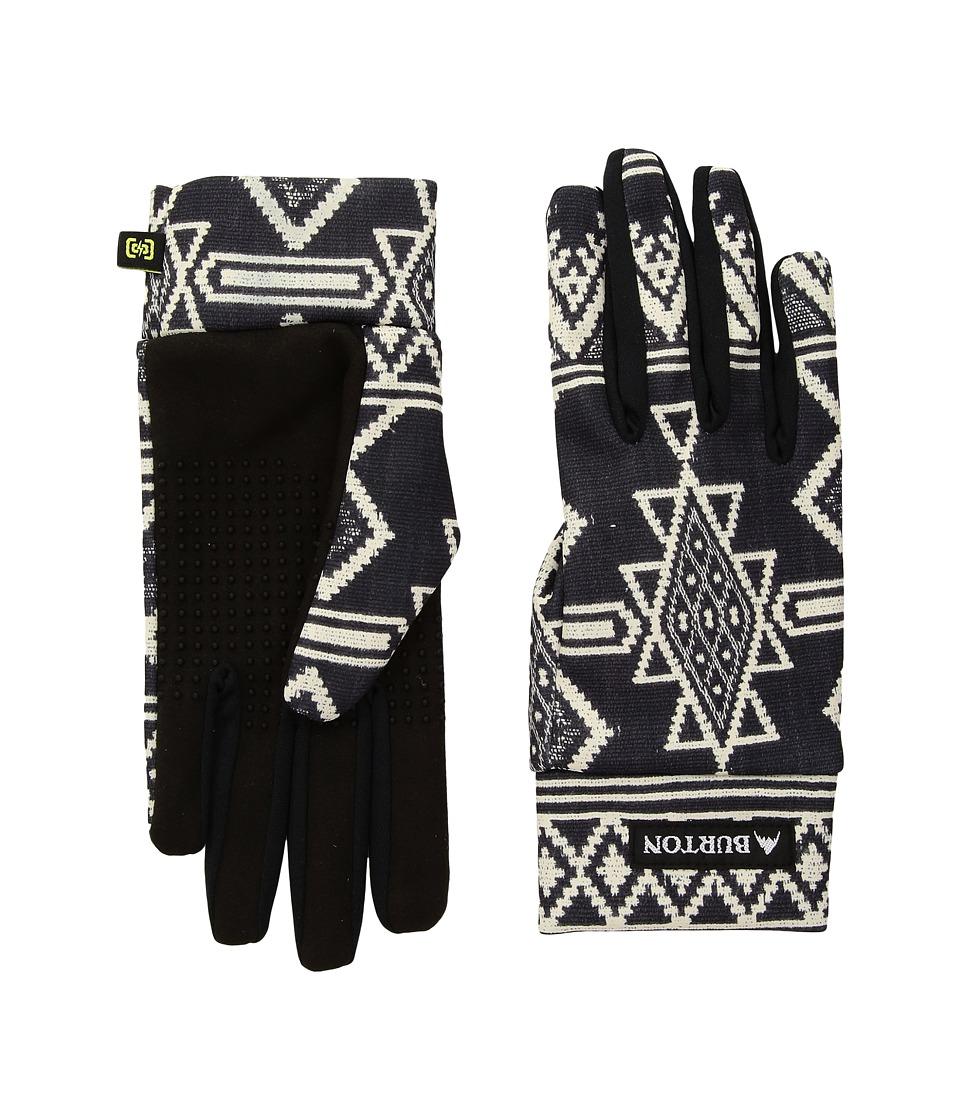 Burton Touch N Go Glove (True Black Mojave) Extreme Cold Weather Gloves