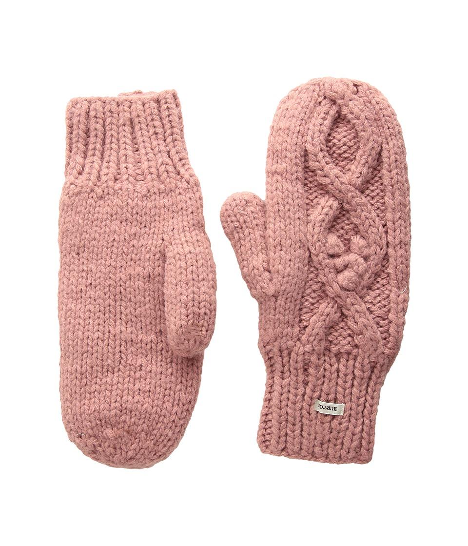 Burton Chloe Mitten (Dusty Rose) Extreme Cold Weather Gloves