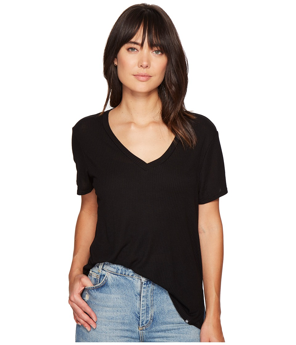 Volcom Dish it Out Tee (Black) Women