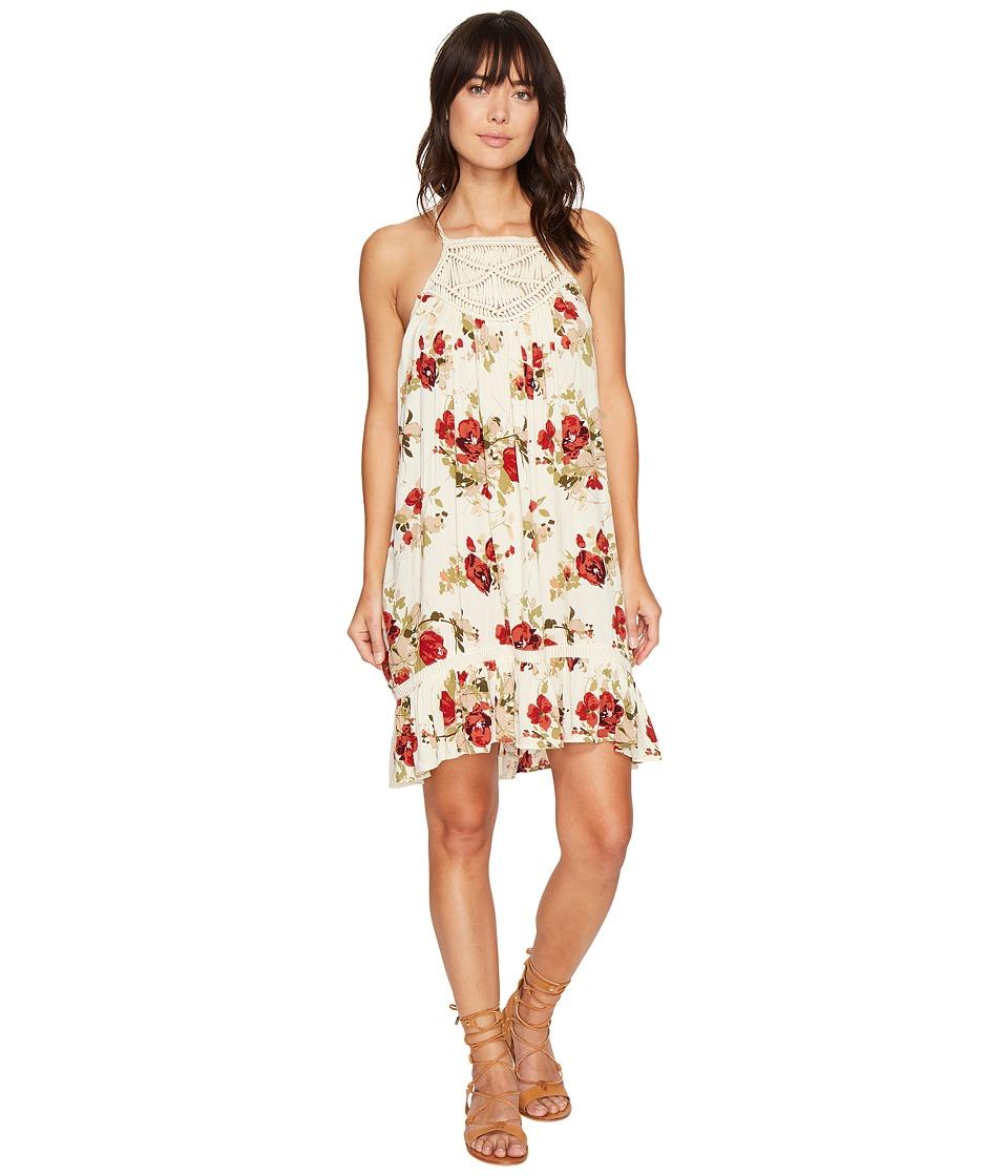 Volcom Shello? Dress (Vintage White) Women