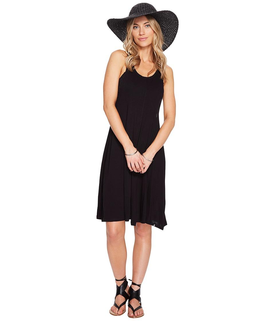 Volcom Solo Trip Dress (Black) Women
