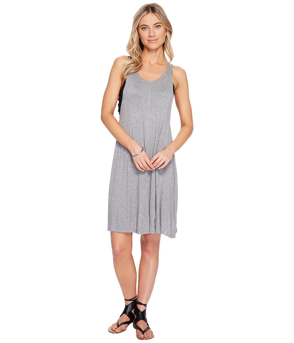 Volcom Solo Trip Dress (Heather Grey) Women