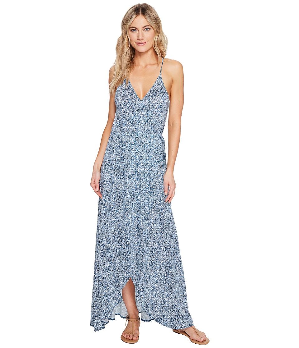 Volcom Beckon Me Dress (Stormy Blue) Women