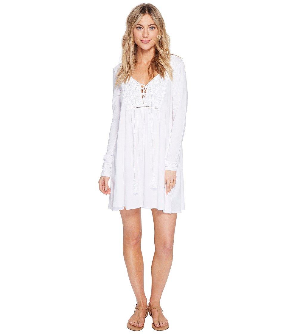 Volcom Rockin Rad Dress (White) Women