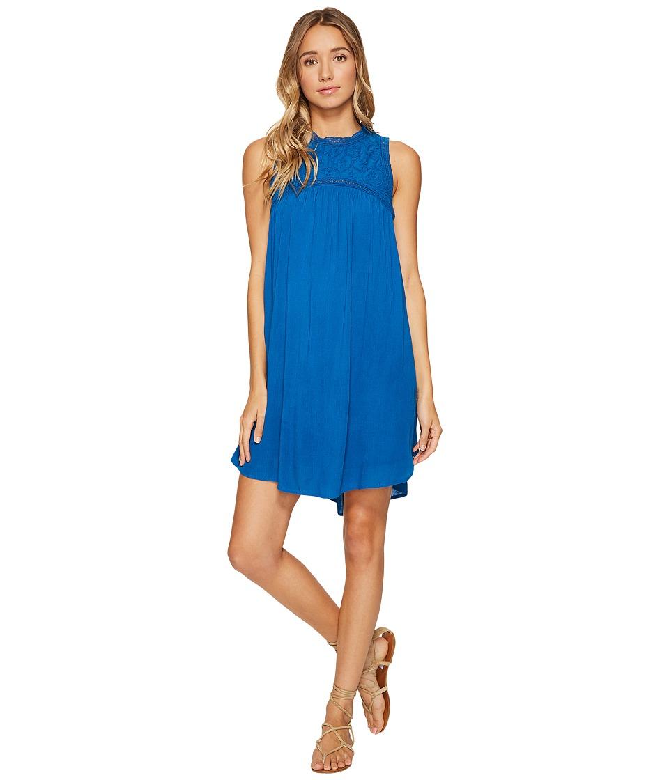 Volcom Sunset Path Dress (Harbor Blue) Women