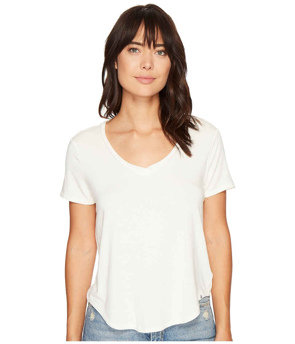 Volcom Lived in Tee (Vintage White) Women