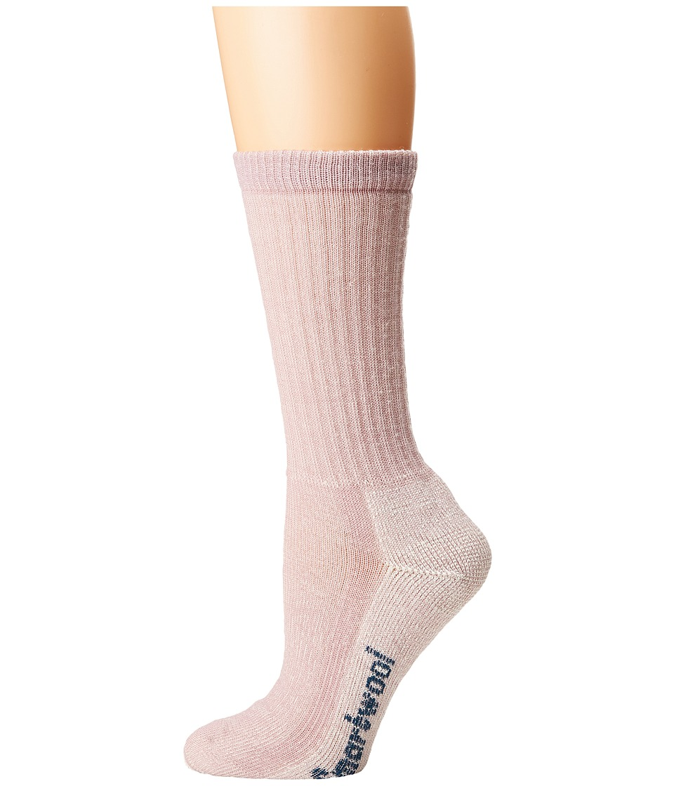 Smartwool - Hike Medium Crew (Woodrose) Womens Crew Cut Socks Shoes