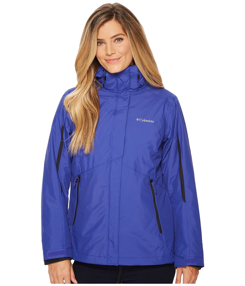 Columbia Bugabootm Interchange Jacket (Clematis Blue/Black) Women