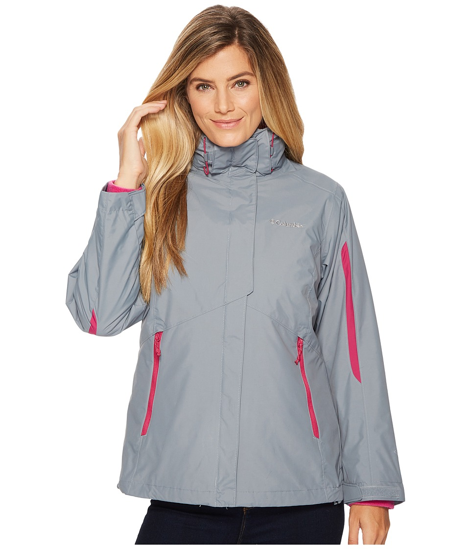 Columbia Bugabootm Interchange Jacket (Grey Ash/Deep Blush) Women